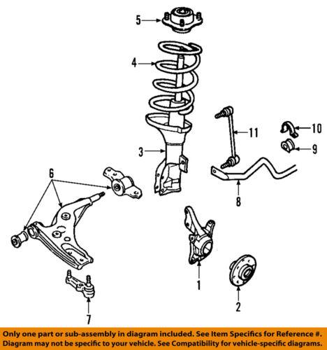 Car & Truck Sway Bars & Parts Motors FORD OEM 05-09 Mustang ...