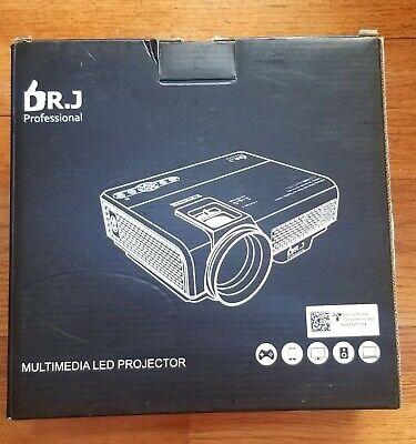 Dr J Professional Multimedia Lcd Projector 170 Display Model P68 Ebay