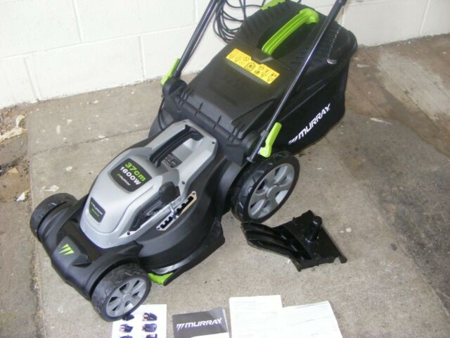 Murray Corded Electric 1600W Lawn Mower, 7 height positions COLLECTION ONLY