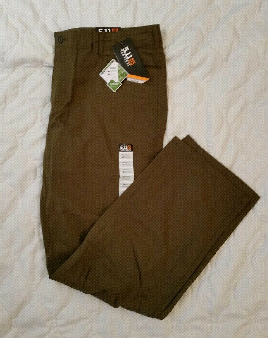 NWT 5.11  Tactical Ridgeline pant field green 40x34 shield+ Teflon treated B28  export outlet