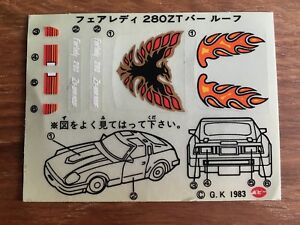 Objective Décalcos Fairlady 280 Zt Bar Roof Fast Color Stickers, Decals & Iron-ons