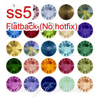 ss5 1.8mm No Hotfix Swarovski 2058 Flat back CRYSTAL Rhinestone Nail Art Jewelry