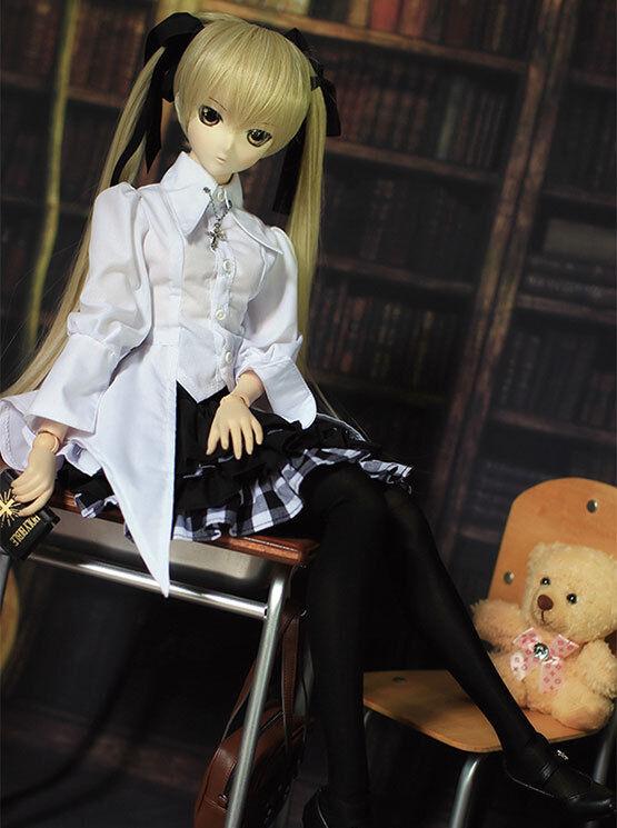 1/3 Bjd Dollfie Traum Dddy Puppe Kleidung Outfit Yosuga Kein Sora Cosplay 76dy