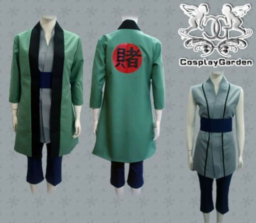 Tsunade Outfit Uniform Cosplay Costume Full Set Halloween Custom Made