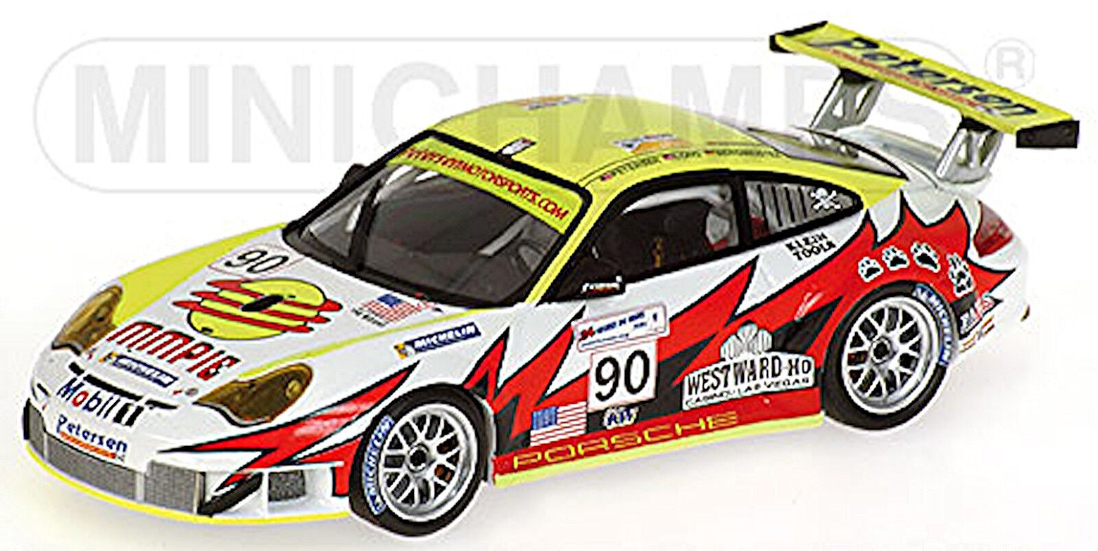 mejor calidad Porsche 911 GT3 Rs 24h Le Mans 2005 Bergmeister Largo Largo Largo Bernard  90 1 43  Envío y cambio gratis.
