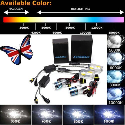 H1 H3 H7 H8//H11 9005 9006 55W HID Xenon Headlights KIT Slim Ballast 6000K 8000K