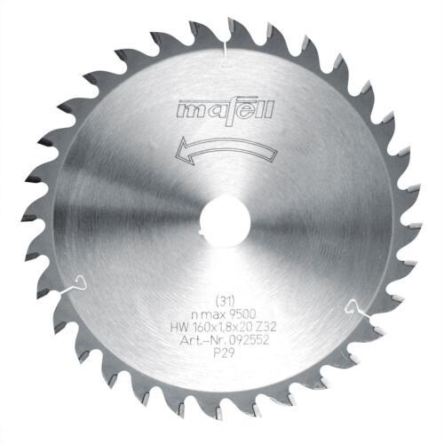 Z 32 WZ092552 Mafell Sägeblatt-HM 160 x 1,2//1,8 x 20 mm
