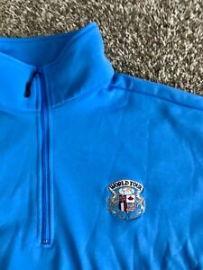 World-Golf-Tour-Pullover-Sweater-Jacket-Large-Ryder-Cup