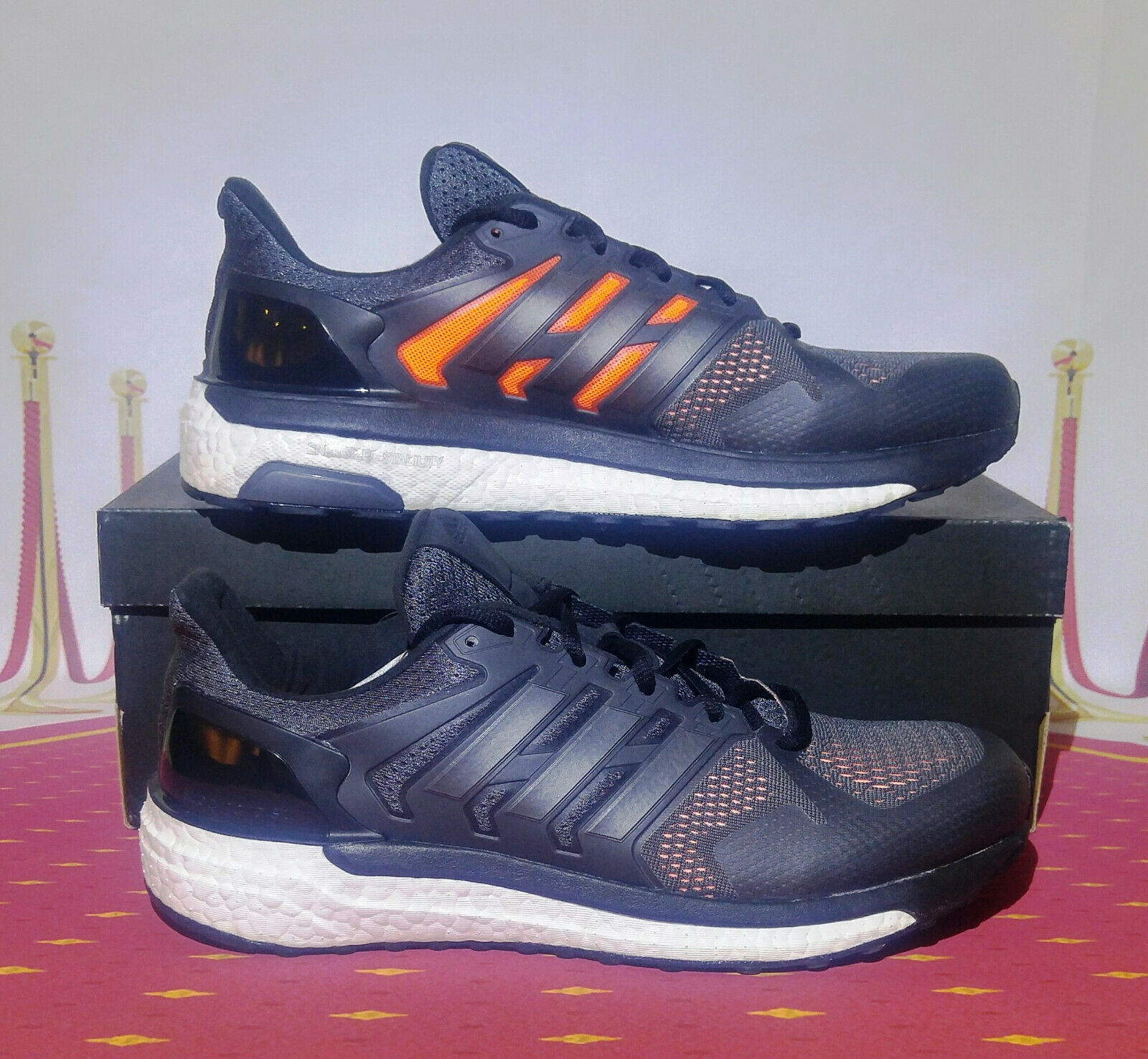 fb4fb0a7c05f1 Adidas Men s Men s Men s Supernova St CG3063 Running Men s shoes size 10  NEW 74f8f8