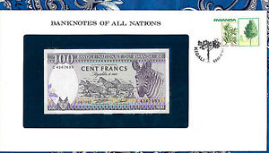 Banknotes-of-All-Nations-Rwanda-1982-100-Francs-P18-UNC-Prefix-C