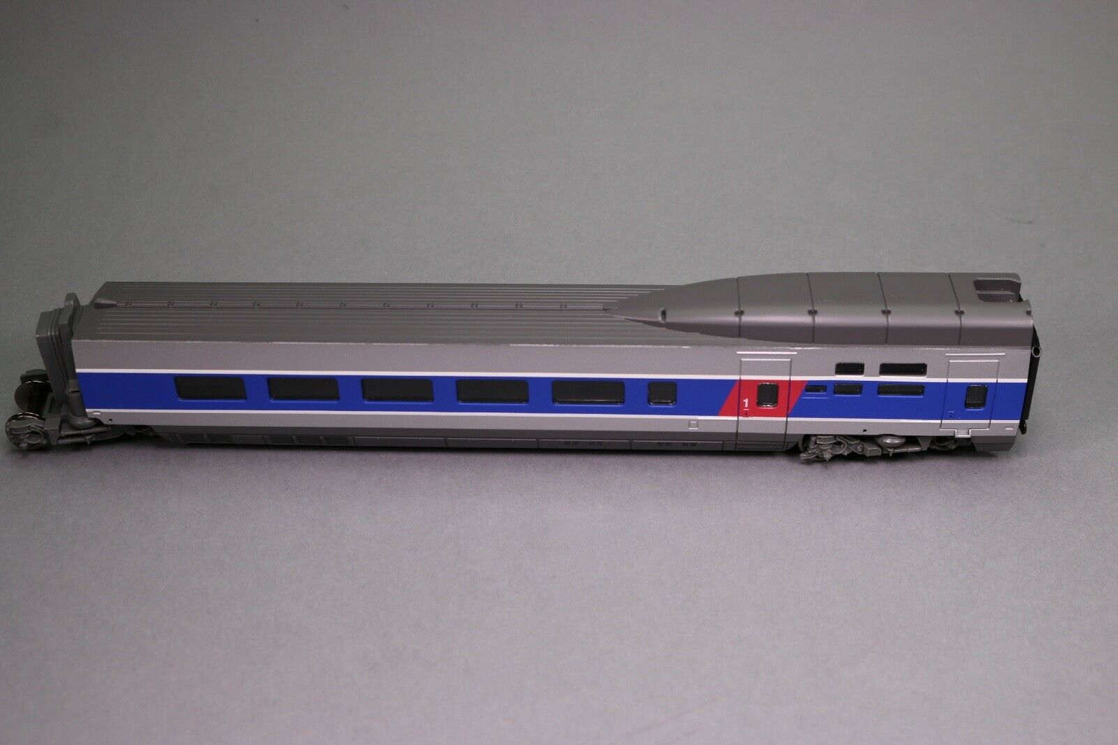 Zb293 car train lima oh tgv Atlantic class 1 bogie isole continuous 2 rails