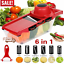 Super-Slicer-Plus-Vegetable-Fruit-Nicer-Peeler-Dicer-Cutter-Chopper-Grate-Grater thumbnail 1