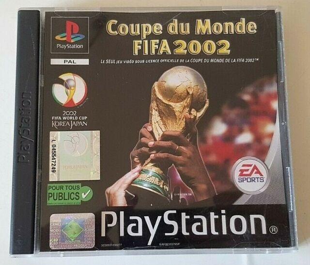 Coupe Du Monde Fifa 2002 - PlayStation 1 PS1 - PAL - Complet