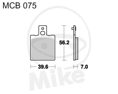 TRW Lucas Bremsbeläge MCB75 hinten Moto Guzzi Nevada 750