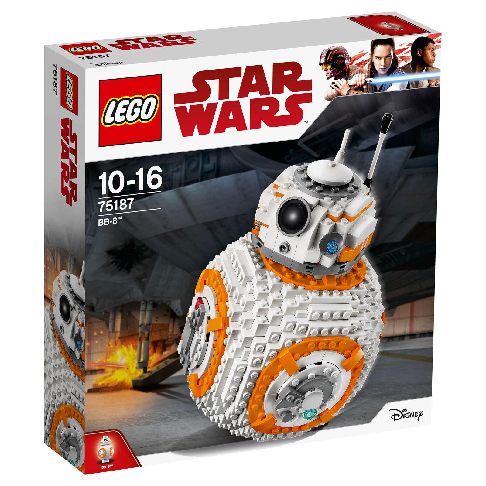 75187 lego star wars BB-8 1106 Pièces Age 10-16 ans nouveau libération 2017   Online Shop