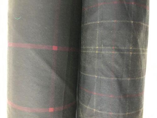 COTTON CANVAS WAX FABRIC TARTAN Marine Quality Oilskin Outdoor Jackets Clothing