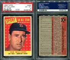 1958 TOPPS #485 TED WILLIAMS ALL STAR PSA 6 (9782)