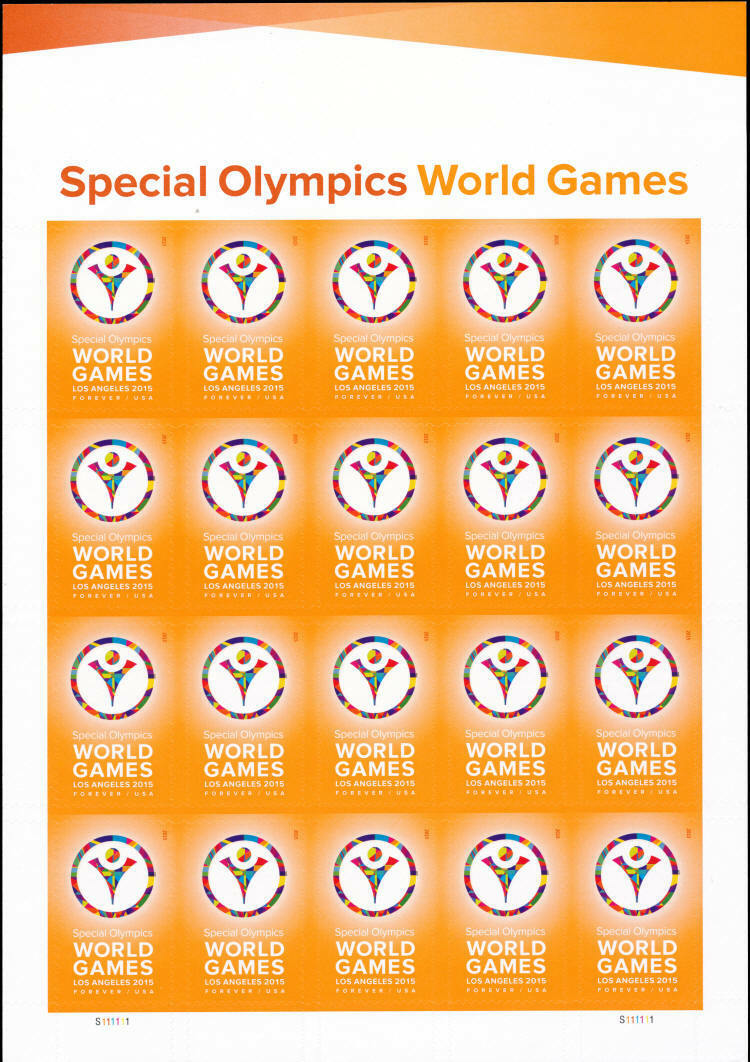 2015 49c Special Olympics World Games, Los Angeles Scot