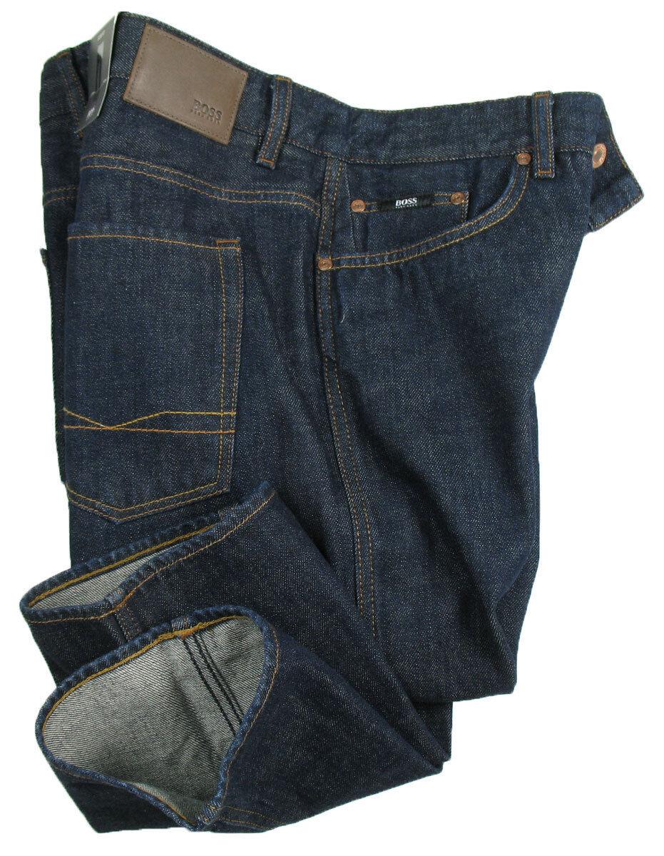 BOSS schwarz Jeans   Delaware in W33 L34 ( Slim Fit ) dark Blau JAPANESE DENIM