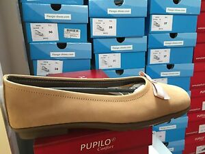Shoes Leather 5 Amber Pupilo Taglia Women's Nubuck qgWI4