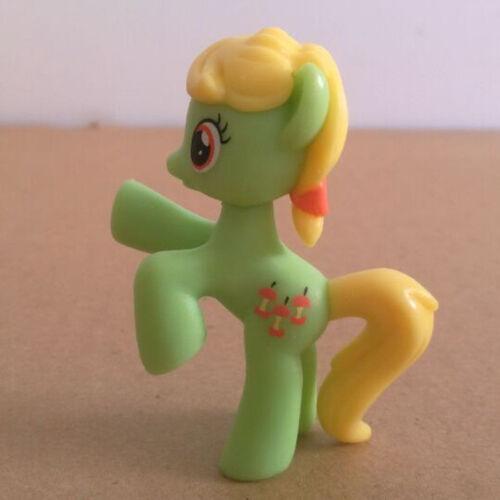12//1 Piezas My Little Pony Toppers para Tarta PVC Figuras de Acción Infantil