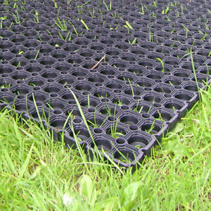 Image Is Loading Heavy Duty Rubber Gr Mat Outdoor Safety Flooring