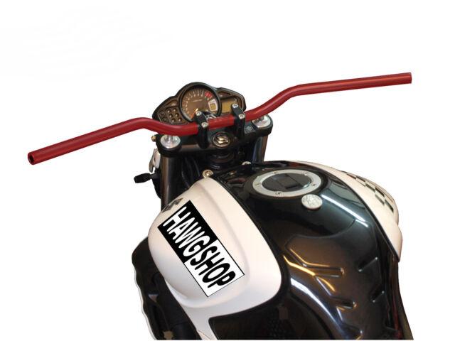 Motorrad Lenker Alu rot 22mm TRW SUPERBIKE handlebar red