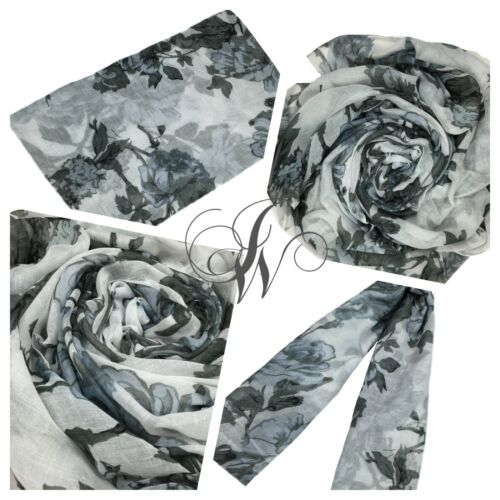 Hijab//scarf Maxi beautiful floral design colours Spring//summer