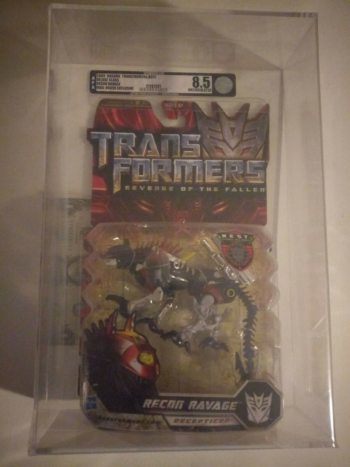 AFA 8.5U Transformers ROTF Recon Ravage mail order mail order exclusive AFA fres
