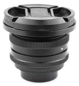 Carl-Zeiss-Jena-TEVIDON-25-25mm-f-1-4-C-Mount-to-MFT-BMCC-BMPCC-GH4-GH5-GX9