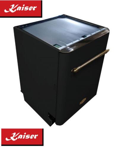 Kaiser Empire Black Nostalgie Einbau Geschirrspüler 60 cm Unterbau Spülmaschine