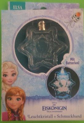 Disney Frozen Die Eiskönigin - LED Leuchtkristalle + Schmuckband 6 Verschiedene