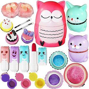 Make Up Games For Girls Kids Kit Toys Pretend Play Cosmetics Set Preschooler New