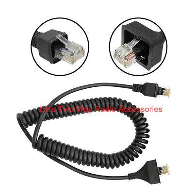 RJ-45 Microphone Cable Cord F Kenwood Radio 8 PinKMC-30 KMC-27A KMC-27B KMC-28A