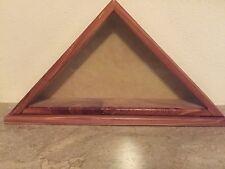 Cedar Flag Display Case 3 X 5 Flag Small USA Made 🇺🇸