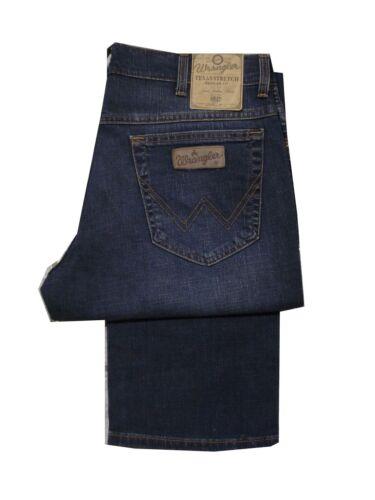 Para Hombre De Alto Wrangler Texas Stretch Fit Regular De Jeans-Vintage Tint