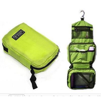 Women Travel Camping Toiletry Hanging Wash Portable Makeup Cosmetic Storage Bag