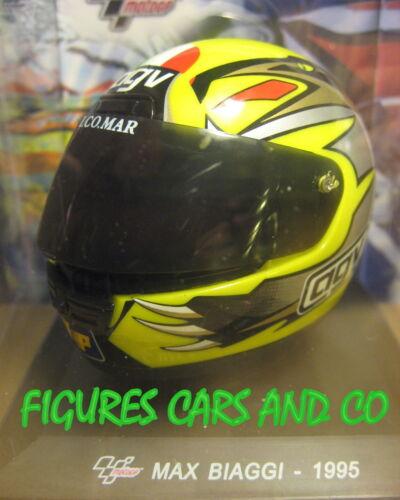 MOTO GP  1//5  CASQUE  MAX BIAGGI 1995 CASCOS HELMET