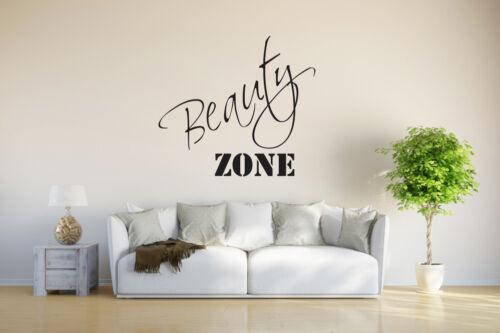 """Tapisserie /""""Beauty Zone/"""" pour homme et femme dans la salle de bains kkk4060"""