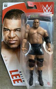 WWE Series 104 Mattel Toy Wrestling Action Figure Regular Version Keith Lee