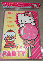 Sanrio Hello Kitty Party Supplies Lot Nip