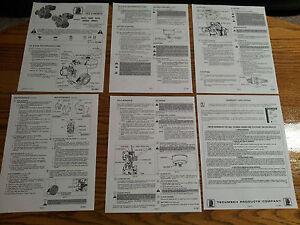 tecumseh h50 h60 h70 hh50 hh60 hh70 engine owners manual ebay rh ebay com Tecumseh H60 Rebuild tecumseh hh 60 service manual