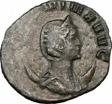 SALONINA Valerian I daughter in law Roman Coin VENUS CUPID Love Cult God  i22302