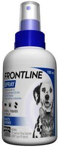 FRONTLINE Spray - Anti-puces et anti-tiques pour chien et chat - 100ml