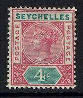 Seychelles SG# 2 - Mint Hinged (Small Hinge Rem) - 082816