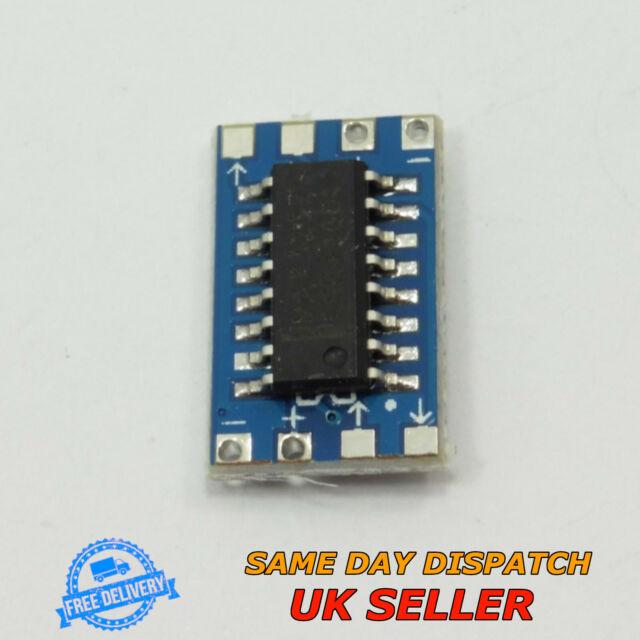 Mini Level Converter RS232 to TTL Adapter Module MAX3232 MAX232 Serial Board
