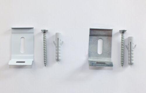 """2 Deckenhalter Clipträger für 3 Lauf Aluminiumschiene /"""" Easy Rail /"""""""