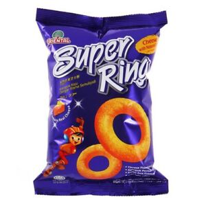 MALAYSIA-HOT-SUPER-RING-CHEESE-SNACK-ORIENTAL-3packs-x-60g