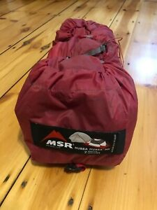MSR Hubba Hubba Lightweight Two Person Tent