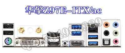 ATX Blende I//O shield ASRock Z97 Extreme6 NEU OVP io backplate bracket #G266 XH